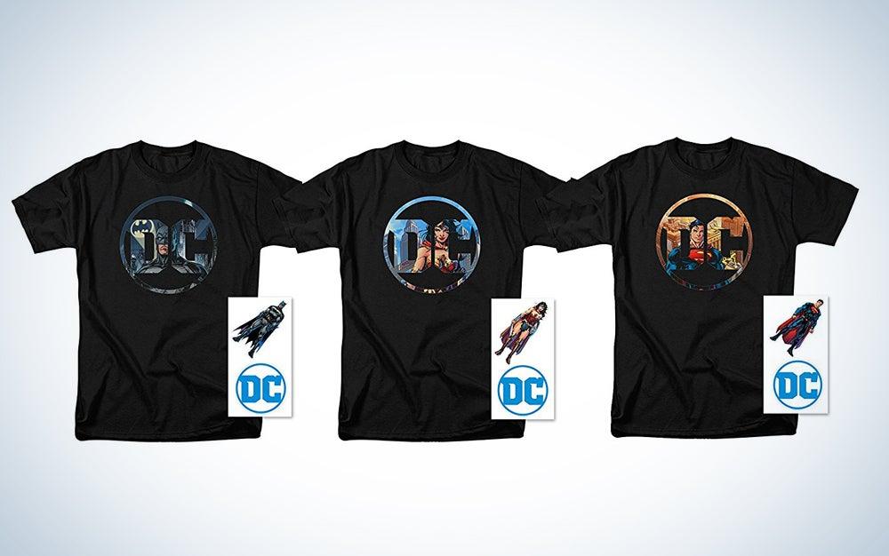 DC logo shirts