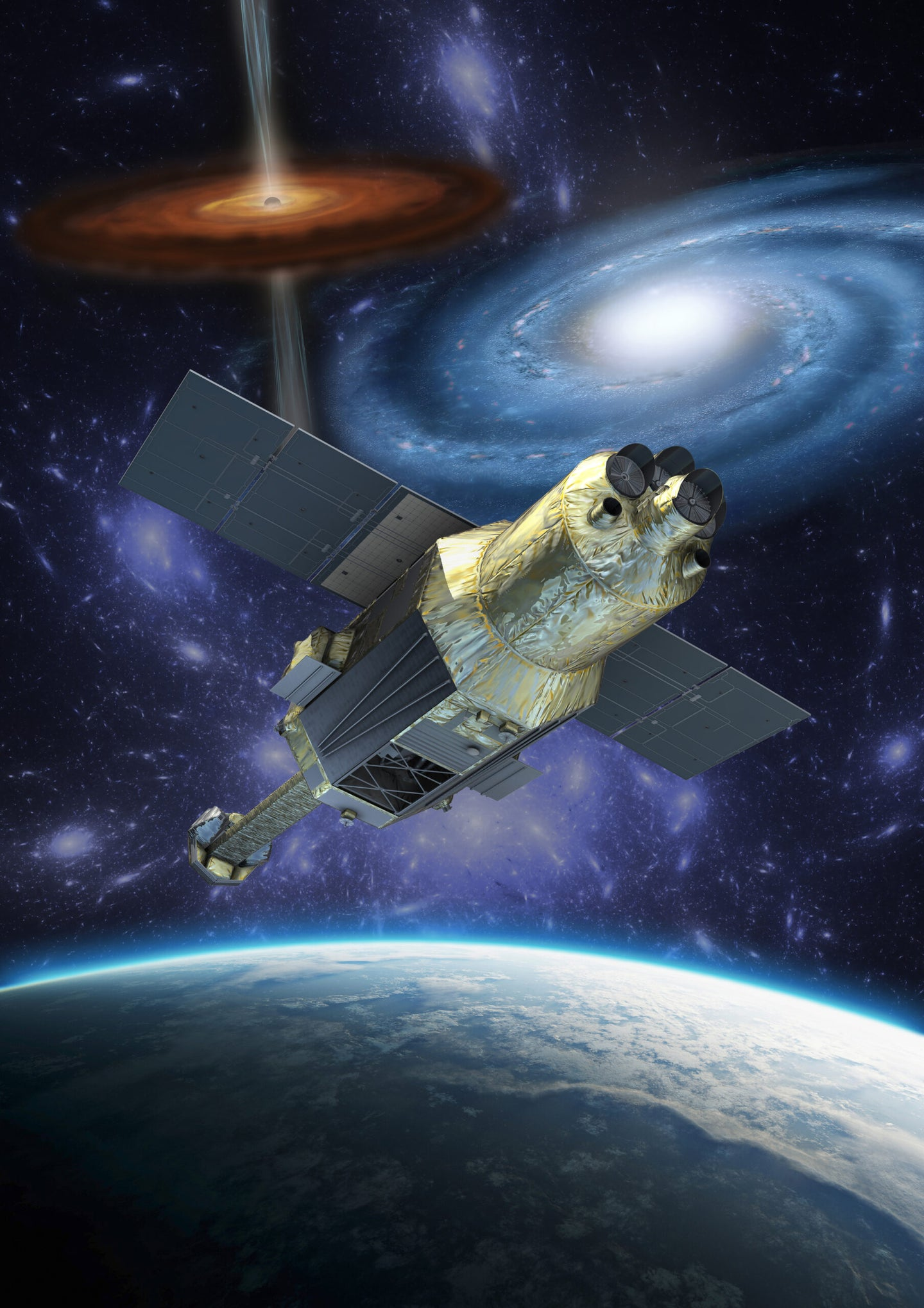 Japan's Space Telescope Officially Declared Dead