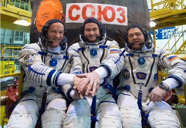 Watch Three Guys Go To The Space Station