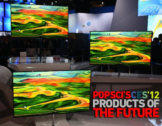 The Best of CES 2012: PopSci's Products of the Future