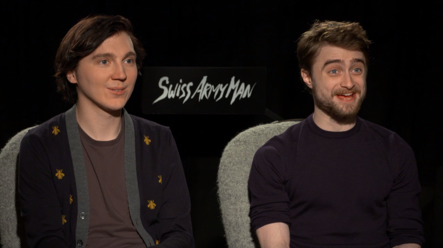 Daniel Radcliffe and Paul Dano On Science And 'Swiss Army Man'