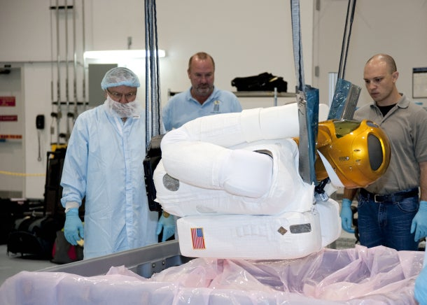 Robonaut Is Getting Ready For His Big Trip to Space