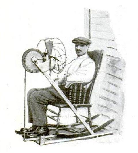 Rocking Chair Fan: June 1921