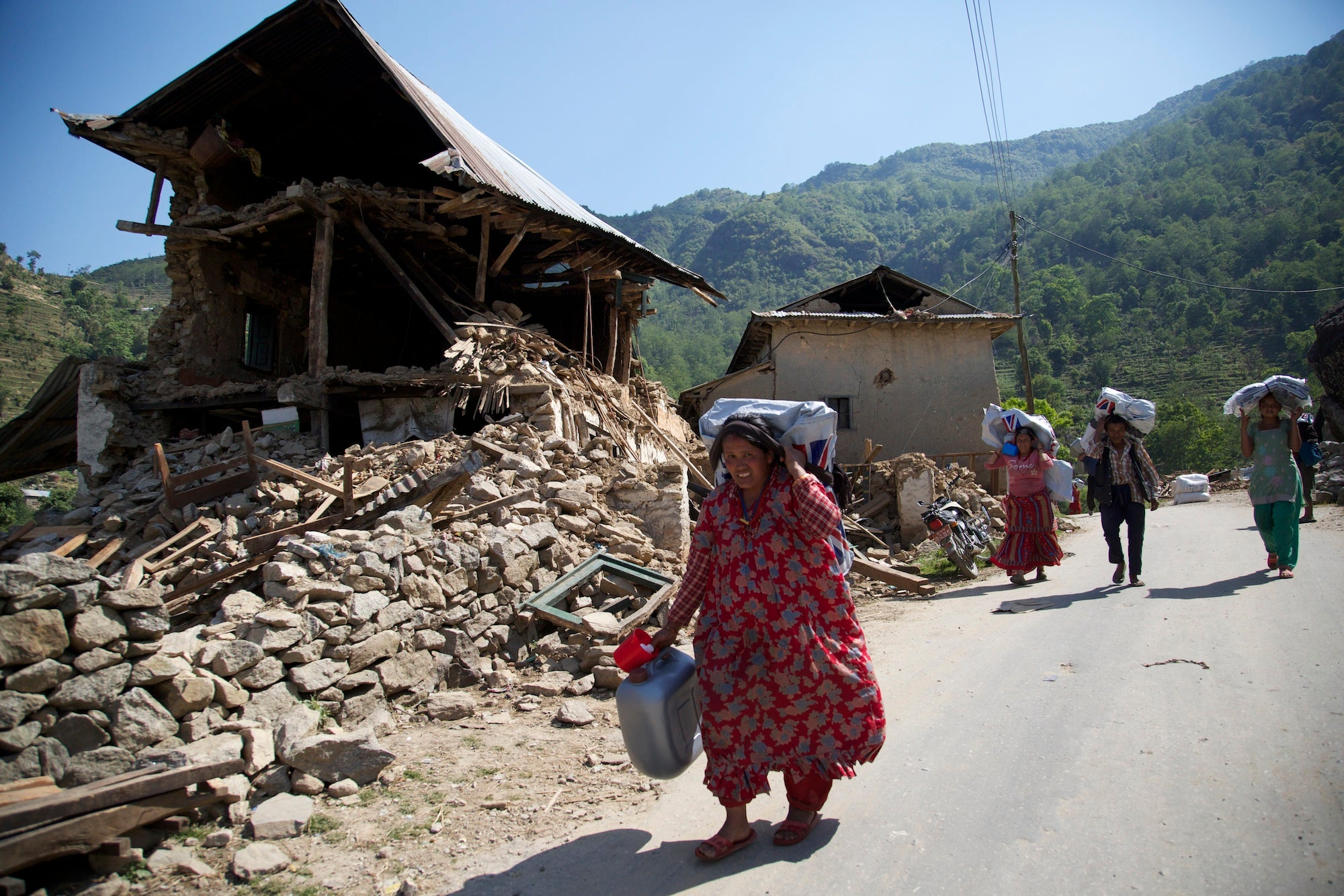 Nepal Hit By Another Large Earthquake