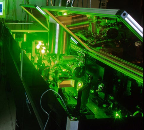 Water Rolls Uphill On Metal Blasted By Powerful Femtosecond Laser