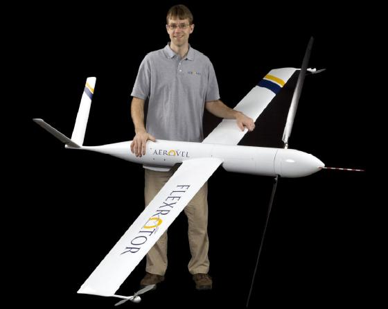 VTOL Drone Would Land, Refuel and Take Off By Itself