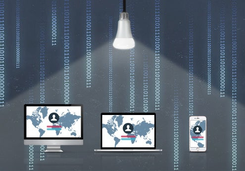 This New Lightbulb Transmits A Record-Breaking Amount Of Data To Your Home Devices