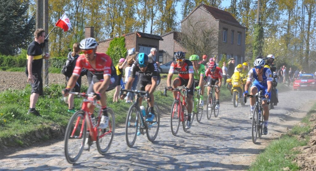 Paris-Roubaix cycling course