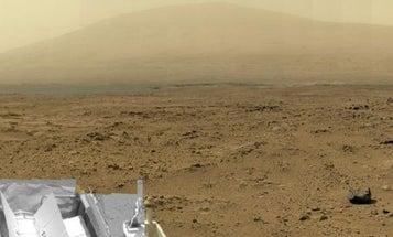 Curiosity Rover Snaps A Gigapixel Panorama Of Mars