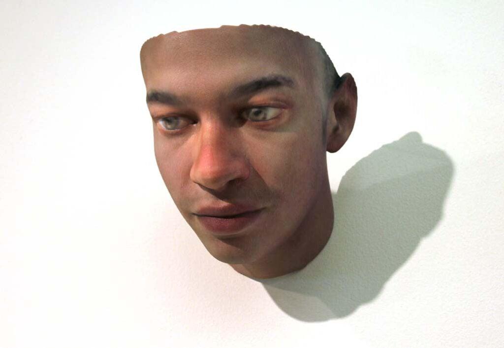 face, Stranger Visions Portrait