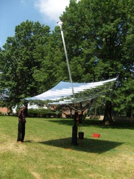 Green Dream: A Solar Power Plant in Your Backyard