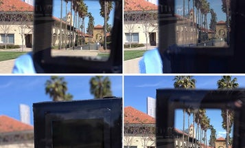 This smart window uses electricity to quickly change from clear to dark