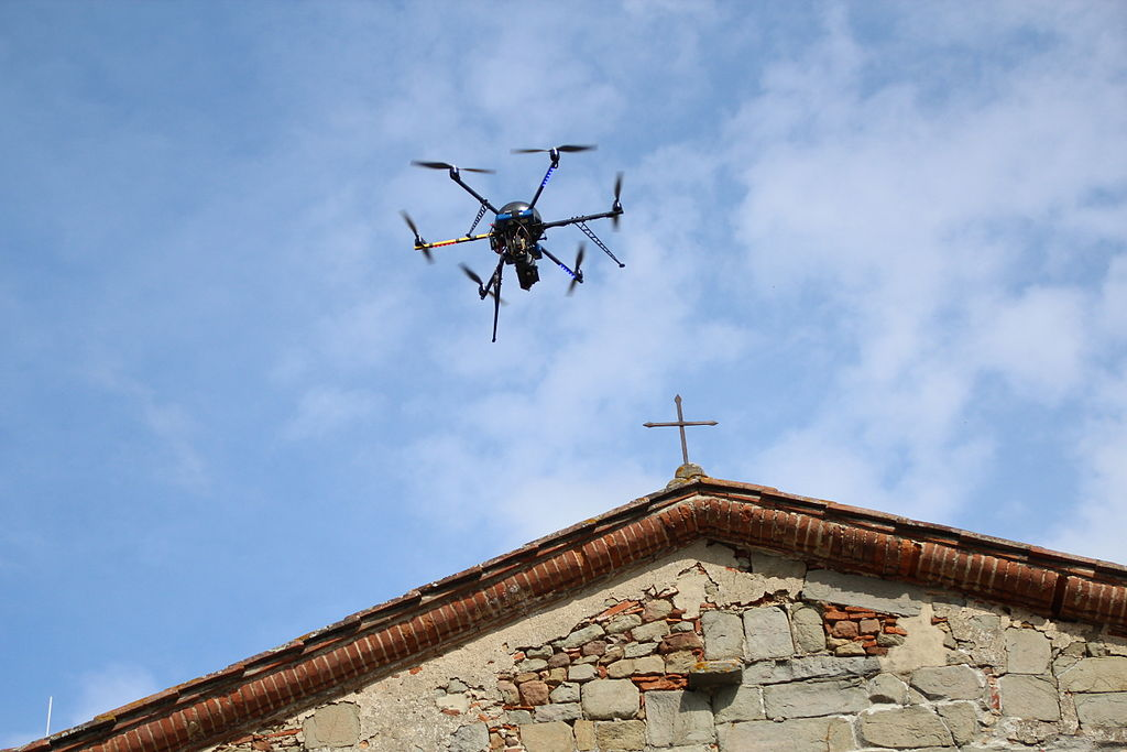 Hexarotor In The Sky