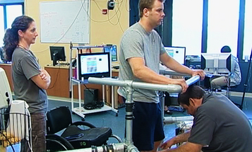 With Electrical Stimulation to the Spinal Cord, Paralyzed Man Walks Again