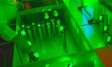Berkeley Lab Builds a Desktop Particle Accelerator