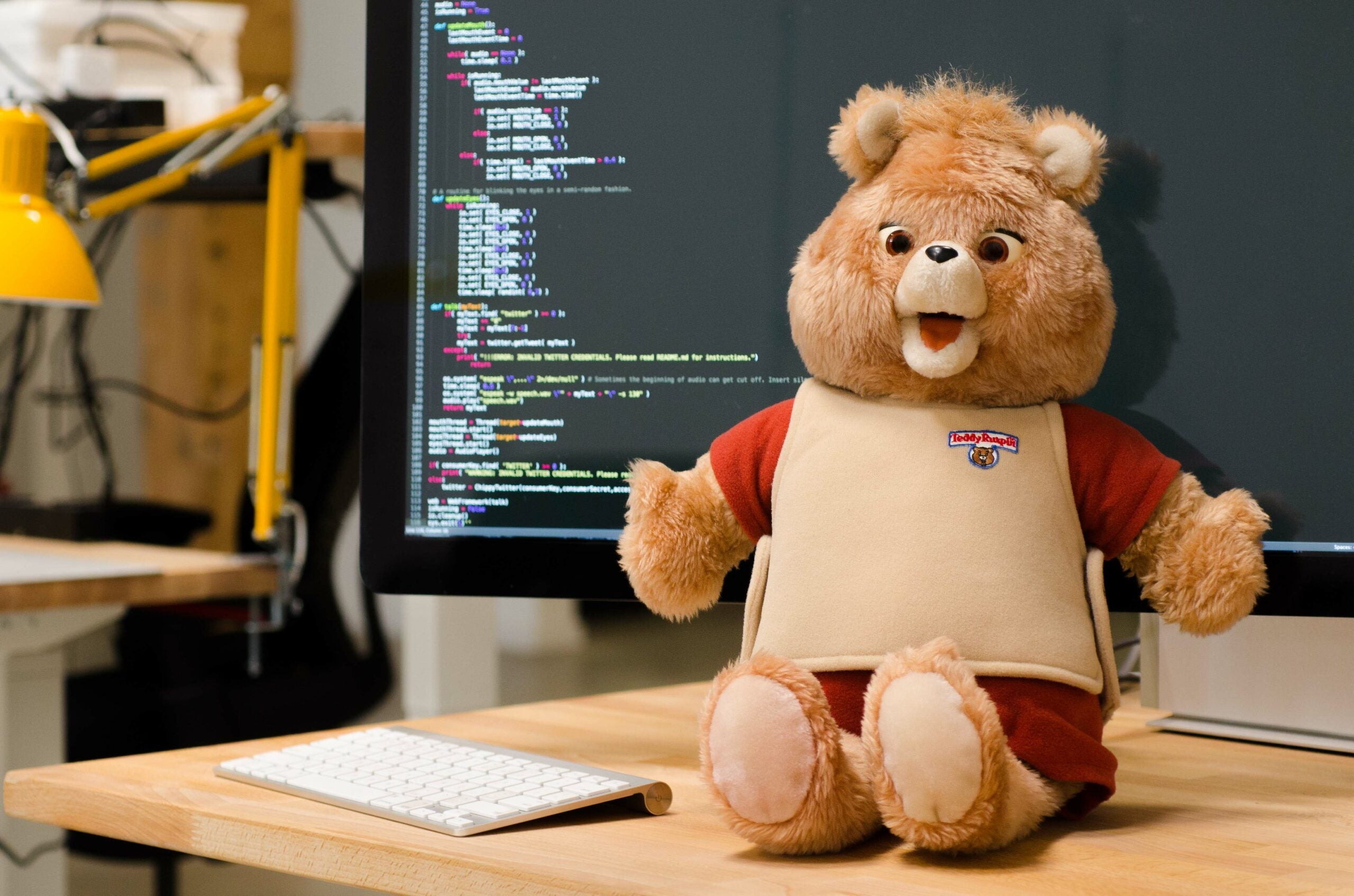 Hack A Teddy Bear To Say Anything