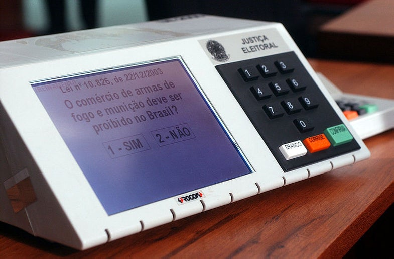 A History of Voting Machines