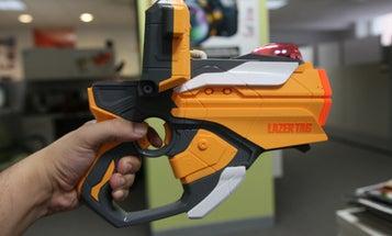 Hasbro Lazer Tag Blaster Review: Smartphone, Meet Laser Tag Gun