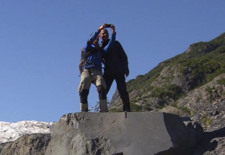 Watch President Obama trek around Alaska with Bear Grylls