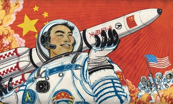 China's Race To Space Domination