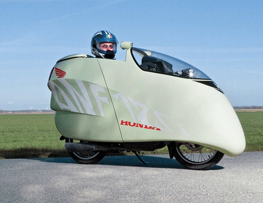 You Built What?! The 200-MPG Aerocycle