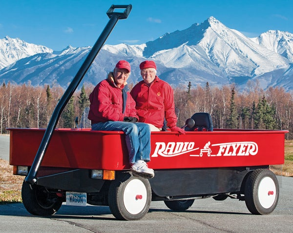 You Built What?! A Truck-Sized, Street-Legal Radio Flyer Wagon