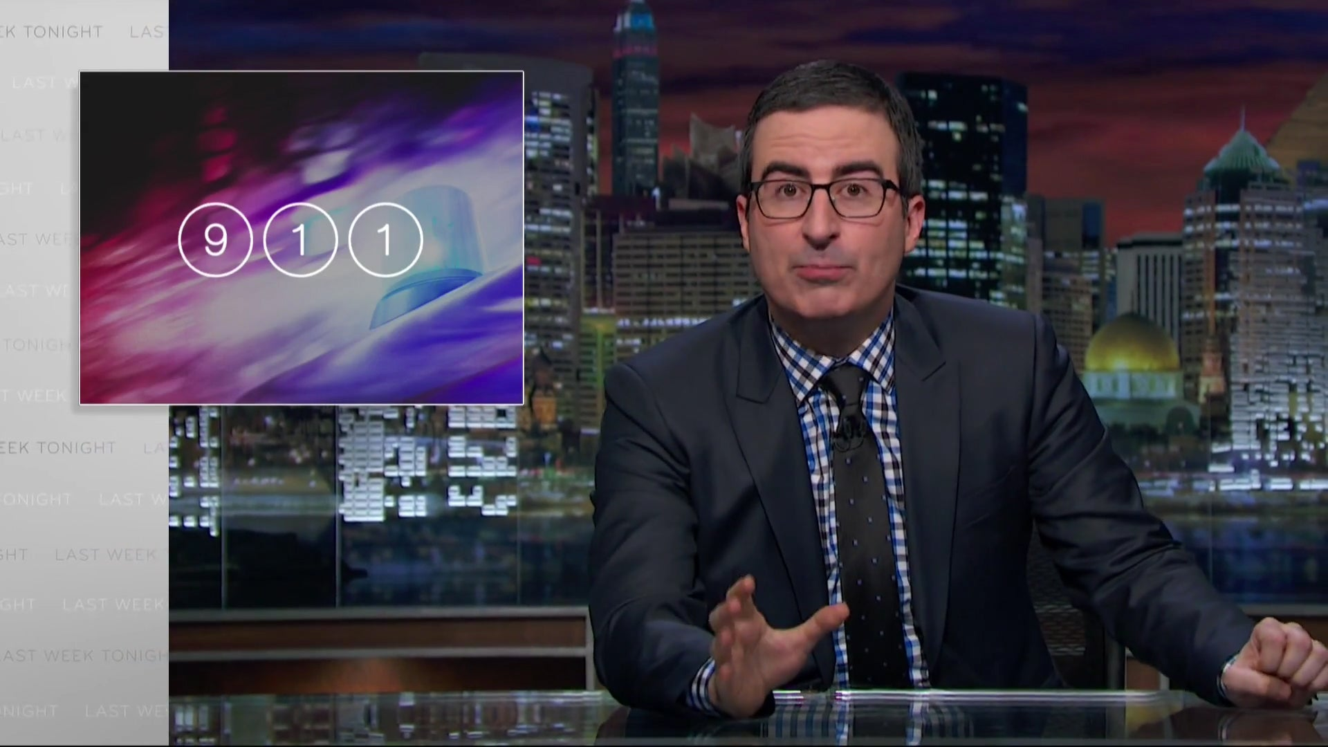 John Oliver on the problems facing the 911 System