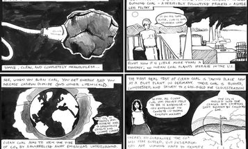 "Comic: How ""Clean"" Can Coal Be"