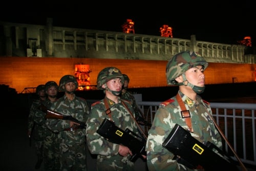 China laser weapon blinding
