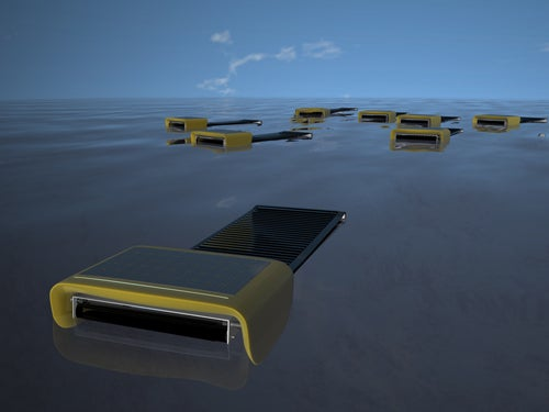 Autonomous Swarming Robots Can Skim Sea Surface, Collecting Oil As A Team