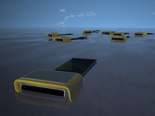 Autonomous Swarming Robots Can Skim Sea Surface, Collecting Oil As A Team