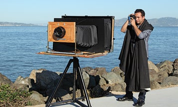 You Built What?! A Six-Foot-Long Camera That Shoots Enormous Photos