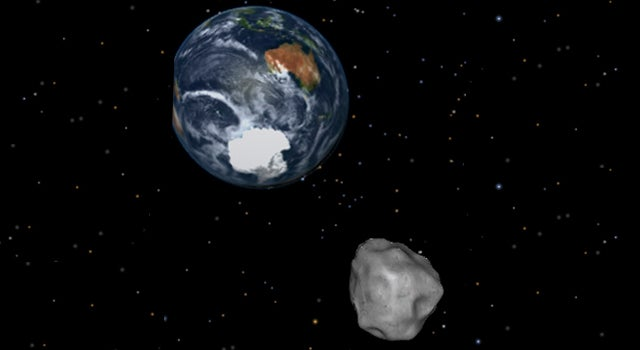 Near-Miss Asteroid Highlights Earth's Risk Of A Nuke-Sized Collision