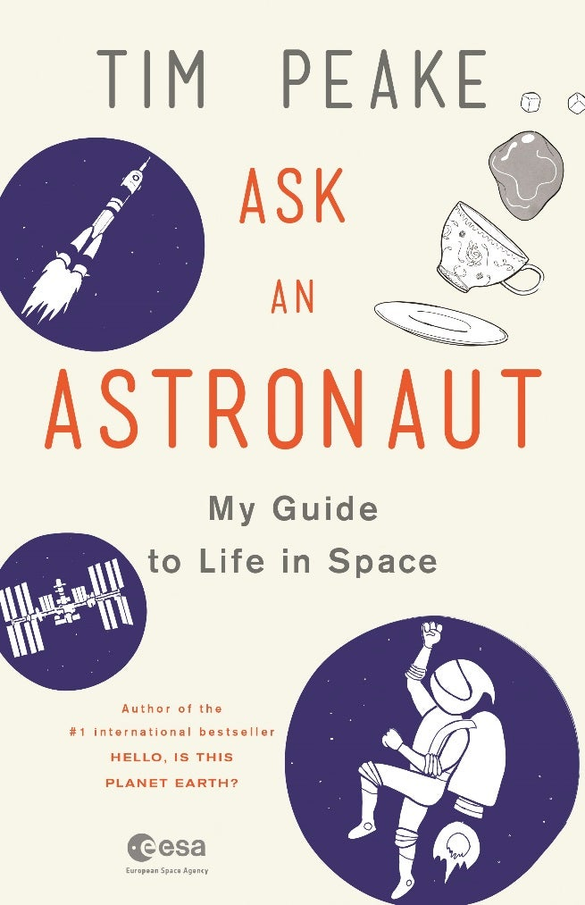 book cover ask an astronaut