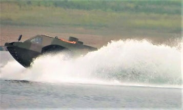 China is building the world's fastest amphibious fighting vehicle