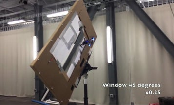 Watch This Drone Slip Through A Narrow Window