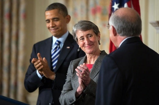REI CEO Sally Jewell To Be Sworn In As Secretary Of The Interior