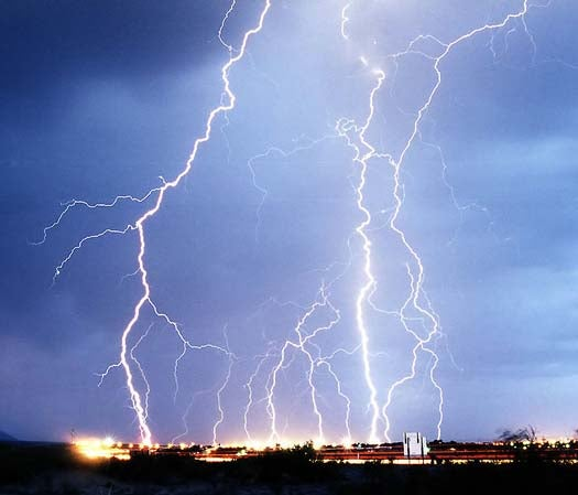 Fermi Telescope Detects Antimatter in Lightning Storms