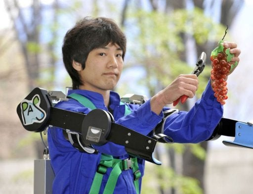 Robo-Suit Will Help Aging Japanese Farmers Pick Crops with Ease