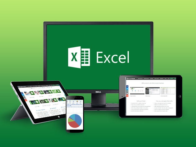 Master Microsoft Excel with 8 complete courses for $25