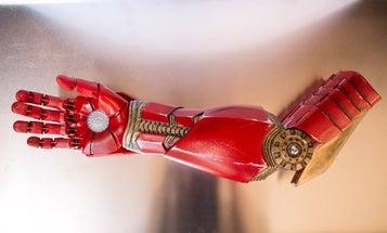 Tony Stark Gives Boy A Bionic Arm [Video]