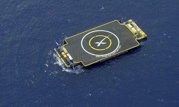 After Successful Launch, SpaceX Rocket Lands On Drone Ship But Topples Over