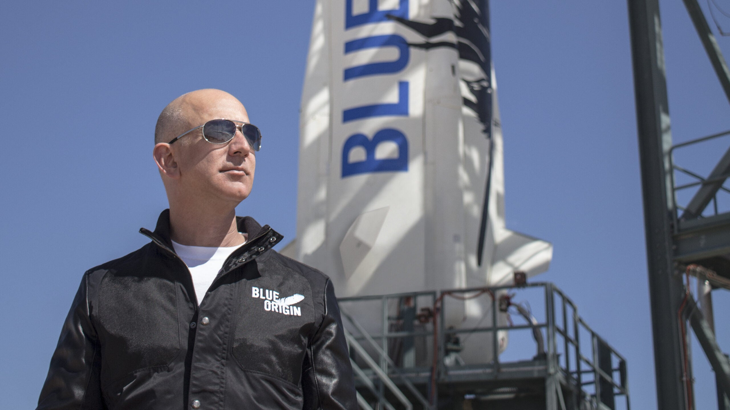 Amazon CEO Jeff Bezos Says He Wants To Launch Trump Into Space
