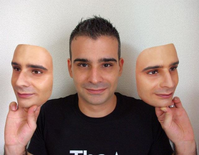 Awesome but Creepy Japanese Product of the Day: Realistic 3-D Face Replicas