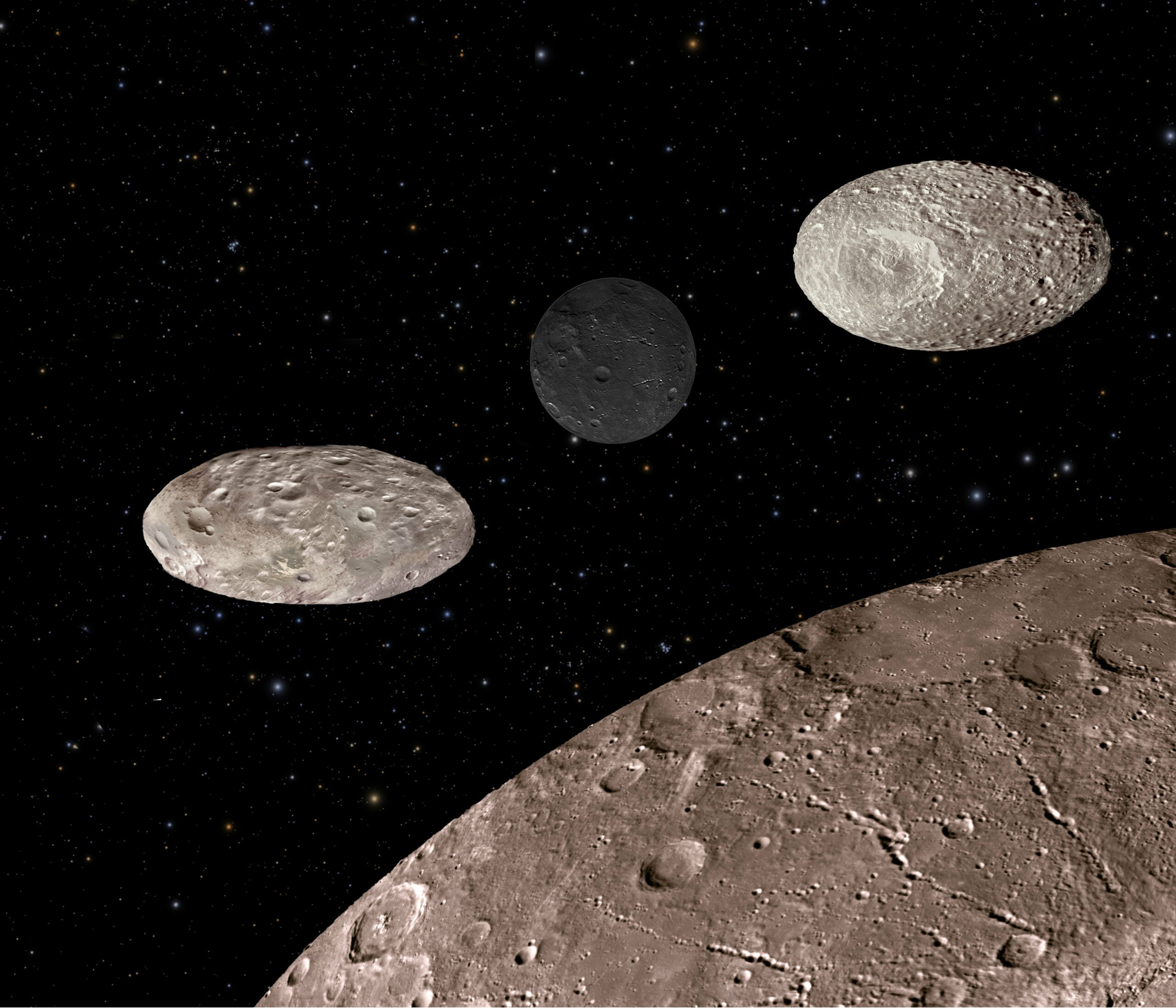 Pluto's Moons Are Flopping Around All Over The Place