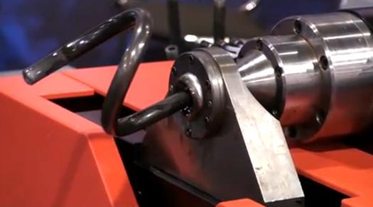 Mesmerizing Tube Bender Looks Like It's Pooping Steel