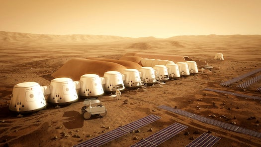 Mars One To Build Simulated Colony For One-Way Astronauts