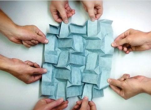 Engineers Use Origami To Inspire Creativity