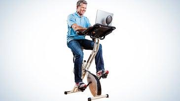 FitDesk 2.0 flywheel bike