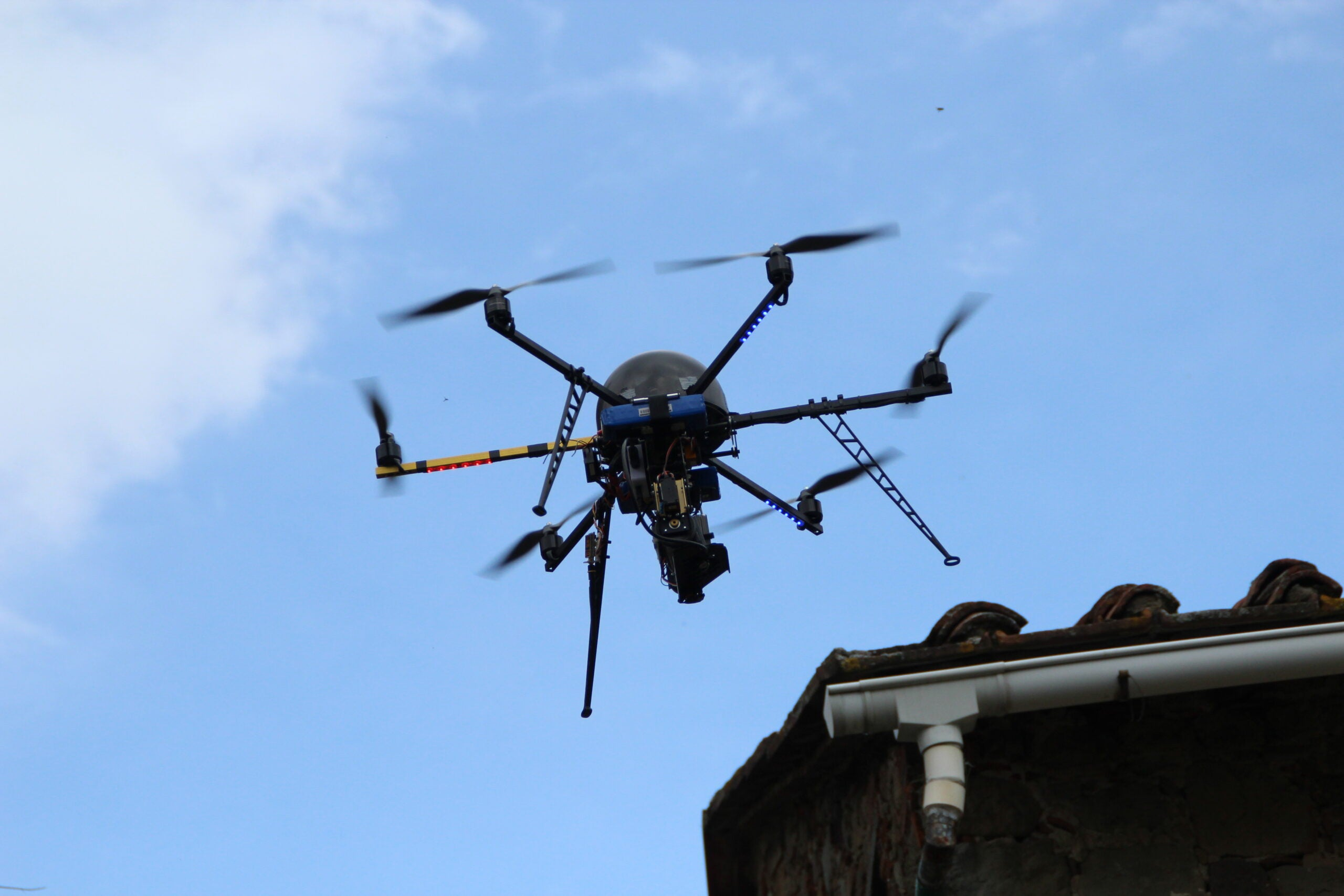 Drone Bombs Crops With Beneficial Bugs